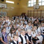 Nasi gimnazjaliści uczestnicy XXXII Biegów im. Janusza Kusocińskiego w Pacynie