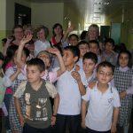 Powitanie w szkole w Turcji