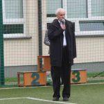 Pan Andrzej Matuszewski wygłasza przemówienie.